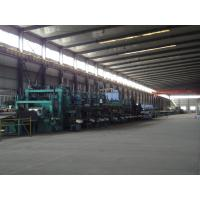 Cold Rolled Steel Strips Tube Making Machine With Online Finish Manufactures