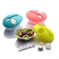 Mircrowave Eco Friendly Plastic Tableware Set Safe LFGB Kids Bento Box Manufactures