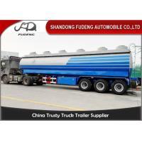 Carbon Steel 15000 Gallon 50m³ Fuel Tanker Semi Trailer 12 Wheeler Plam Oil Transport Manufactures