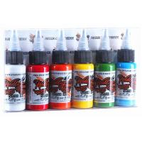 Primary Eternal Tattoo Ink Kit No Side Effects Gradient Colorful 50 Bottles Manufactures
