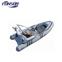 5.8m PVC and Rigid Hull Inflatable Rib Boat for FISHING and Rescuing and water sport with CE Certificate Manufactures
