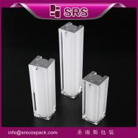 China Shengruisi packaging A050-15ml 30ml 50ml Luxury Acrylic airless lotion pump bottle on sale