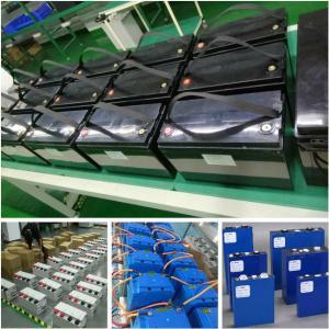 China Iron phosphate lithium battery 12V -96V, 10Ah -1000Ah high power for EV HEV RV Portable Power Bank on sale
