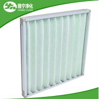 China Pleat Pre Air Filter Compact Air Purifier Pre Filter With Aluminum Frame on sale