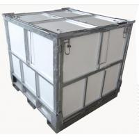 Cold Galvanised Mild Steel IBC Storage Containers Heavy Duty For Industry Manufactures