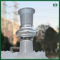 High Satndard Glass Bongs Accessories Dropdown Double Female Adapter For Tobacco Manufactures