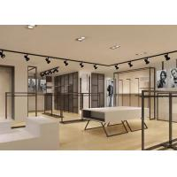 Elegant Design Men Retail Apparel Fixtures With Dis - Assembly Structures Manufactures