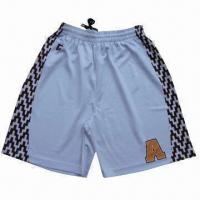 Sports Shorts, Made of Poly Mesh, Customized Sublimation Designs are Welcome Manufactures