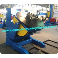 China Adjustable Rotating Tilting Pipe Welding Positioner With Screw Or Bolt on sale