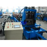 Galvanized Steel C Shape Purlin Roll Forming Machine PLC Computer Control With Inverter Manufactures