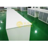 Corrosion resistance chemistry lab countertops matte ssrface , lab worktops