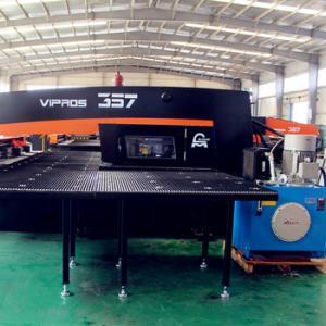 Performance CNC Sheet Metal Punching Machine , Amada Cnc Punch Press For Electrical Control Box Manufactures