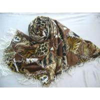Leopard Printed Acrylic Scarf (HP-C2000) Manufactures