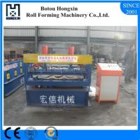 Anti Corrosion Roof Sheet Metal Forming MachineWith PLC Control System Manufactures