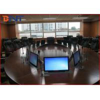China 73 Mm Super Thin Office Meeting Room LCD Computer Lift With 15.6 Inch Touch Screen on sale