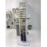 China 44 Pieces Square Quartz Tile Display Racks / Tile Show Stand For Stone Products on sale