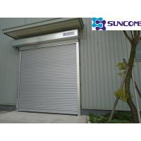 China High Speed Warehouse Automatic Roller Door Shutter Doors With Wind Resistant on sale