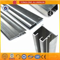 Anodized Silver 6063 Aluminum Window Frame Profile Corrosion - Resistant Manufactures