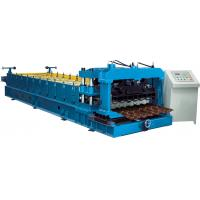 Cr12 Mould Steel Cutter Glazed tile roll forming machine 5.5KW ISO9001 with high production speed Manufactures