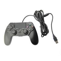 USB Wired Playstation Game Controller Dual Vibration 6Axis Gamepads For PS4 Manufactures