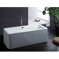 China Body Soaking Indoor Spa Tub 150*75*65cm 1 Person Hot Tub For Adult on sale