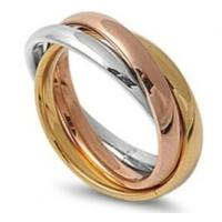 Wholesale Stainless Steel Rings with 3 Colors Manufactures