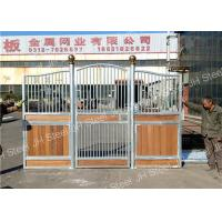 horse riding equipment stable stall front wood panel gates for horse Manufactures