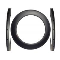 700c Clincher Racing Carbon Road Rims 23mm Width Torsion Strength >50kg Manufactures