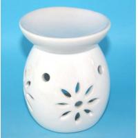 Buy cheap white ceramic essential oil diffuser, aroma oil vase diffuser from wholesalers