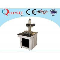 Laser Marking Medical Devices 30W , Air Cooled Laser Marking Machine For Metal Manufactures