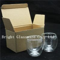 double wall thermo glasses, double wall wine glasses for wholesale Manufactures