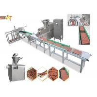 Efficient Auto Meat Strip Traying System Cold Extrusion Pet Chews Treats  Manufactures