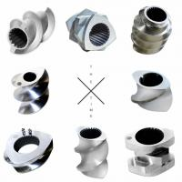 High Wear Parallel PE Pipe Extruder Screw Elements With ISO Certification Manufactures