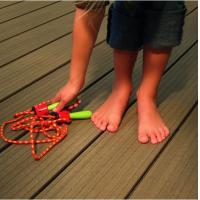 outdoor portable co-extrusion wpc decking, CE/ISO wpc decking floor Manufactures