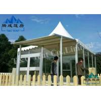 Elegant Bell Tent Camping Sound Insulation With Aluminum Alloy Structure Manufactures