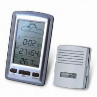 China Wireless Weather Stations with Radio-controlled Clock on sale
