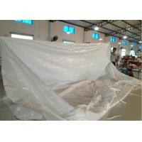 China Dry bulk container liner bags for coffee beans / minerals / chemicals / food on sale