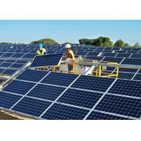 Quality Safety Residential Solar Panels , Solar Pv Modules 60 M / S Load Capacity for sale