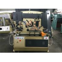 Buy cheap Multi Functional 55 Ton Hydraulic Ironworker Angel Steel Cutting And Bending from wholesalers