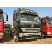 HOWO A7 Prime Mover Truck ZF8118 LHD Steering 420HP 50 Ton Load Capacity Manufactures