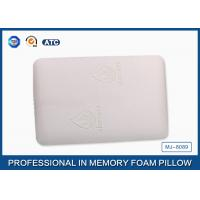 Molded Traditional Memory Foam Back Pillow Covered Bamboo Fabric With Aloe Vera Manufactures