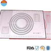 Quality No Space Occupation Silicone Baking Sheet , Easy To Dry Non Stick Baking Mat for sale