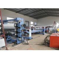 Single Screw PP Plastic Sheet Extrusion Line PP Free Foamed Sheet For Decoration Manufactures