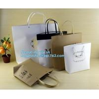 Quality customized Packaging Carrier-Bags Boxes Luxury Property Resorts Folding Ribbon,background luxury gift paper bag carrier for sale