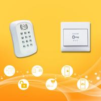 White Smart Home Access Control Switch , Door Access Push Button Wireless Keypad Control Manufactures