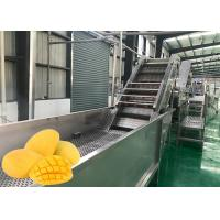 Food Grade Fruit Chips Making Machine 1500 T / Day Low Power Consumption Manufactures