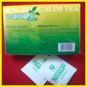 China Weight Losing Ninghong Slim Tea Organic With Natural Fat Burning on sale