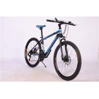 Hot sale OEM 21 speed double wall rim black hi ten steel mountain bicycle with suspension Manufactures