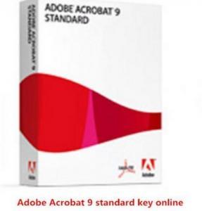 China AAdobe Key Code Adobe Acrobat 9.0 Standard for Multi-language on sale