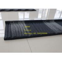 Wind Resistance Wood Tile Stainless Steel Corrugated Sheet Black And Wite Color Manufactures